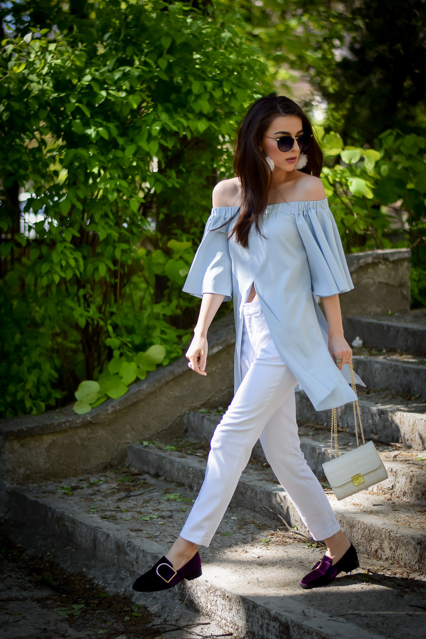 Loafers, yoins, jeans, Instagram, ramona.cervenciuc, denim, jumpsuits, trench, mini skirt, shirt, boyfriend, funky, office, shoes, fashion blog, pinterest, summer outfit
